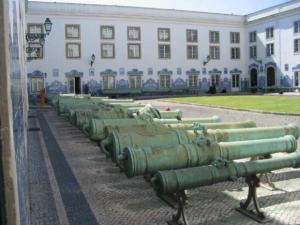 ポルトガル軍需博物館中庭