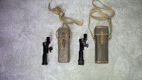 軽機関銃用照準眼鏡と収納嚢