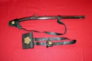 和製管打ち小銃と装具