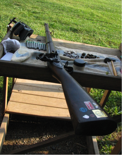 軍用火打ち式歩兵銃50m競技